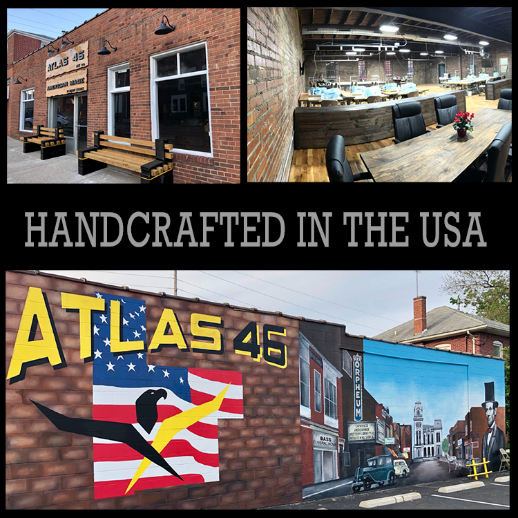 All american made workwear made by Atlas 46