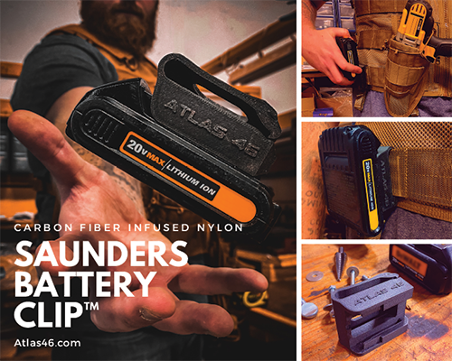 Saunders Battery Clip™