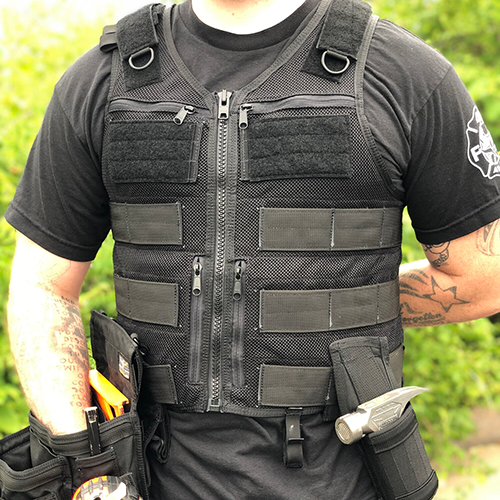 Structural Collapse Kit - A tool vest for First Responders